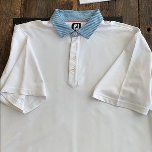 FootJoy Men's Short Sleeve Golf Shirt 2XL W